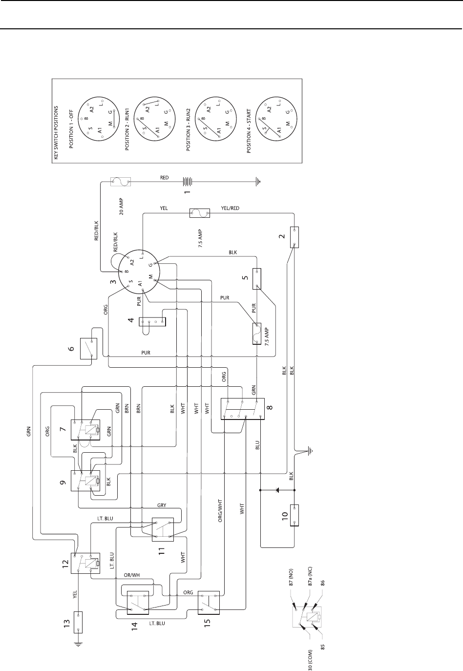 Poulan Pro 925 ZX, Pro 950 ZX WIRING DIAGRAMSManuals