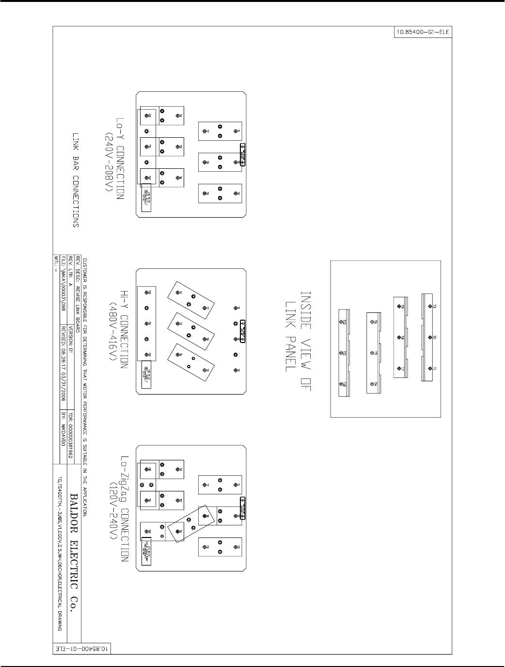 bg54 baldor ts130, ts175, ts25, ts250, ts35, ts400, ts45, ts60, ts80