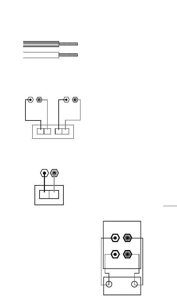 JBL E30, E100, E50, E60, E80, E90, EC35 SPEAKER CONNECTIONS Jbl E Wiring Diagram on