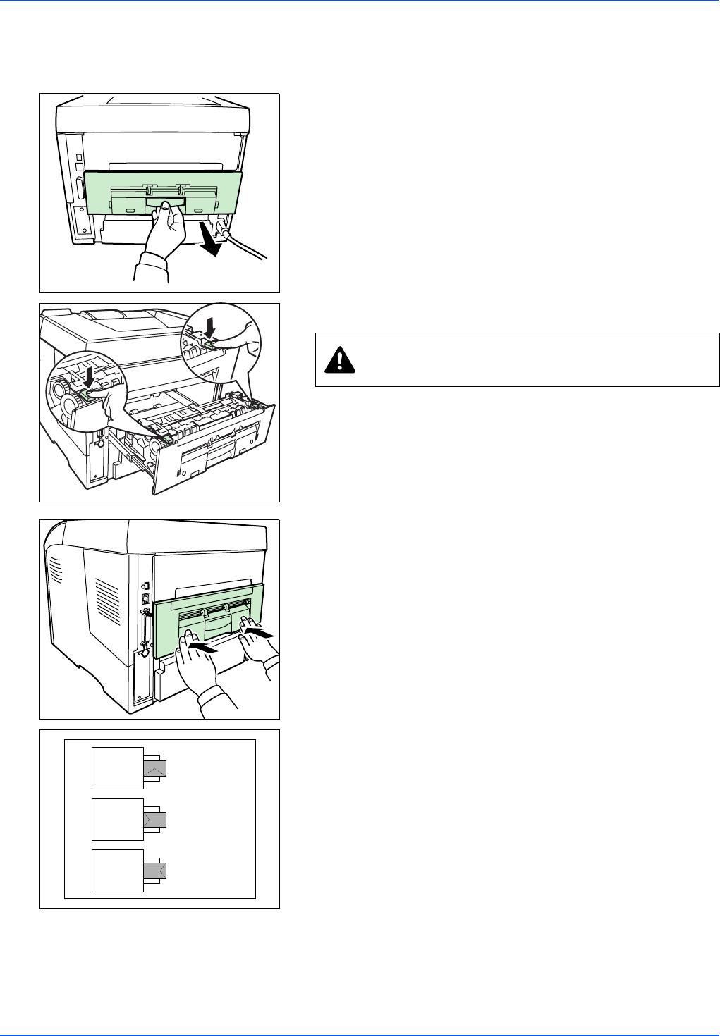 Kyocera FS-3920DN Loading Envelopes into the MP Tray