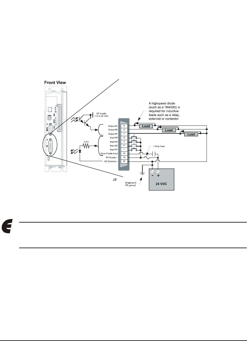 Emerson 400501-05, Epsilon Eb Digital Servo Drive Input/Output and ...