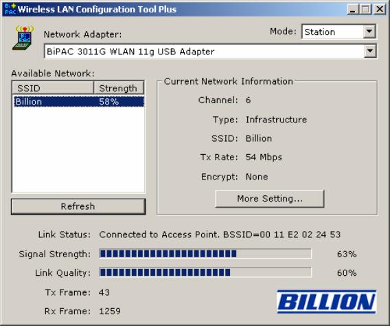BILLION BIPAC 3011G DRIVER FREE