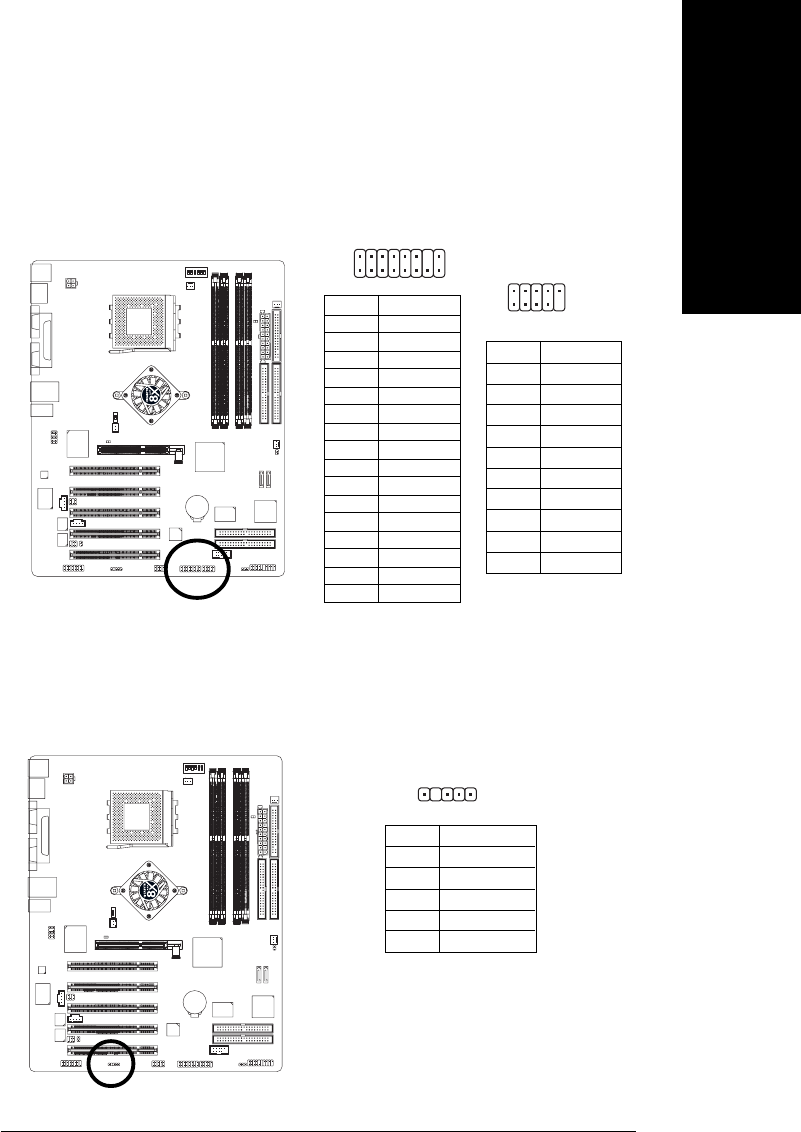 Gigabyte 4500 22f1 1394 F2 Front Ieee1394 Connector 1 Ieee Wiring Diagram 23i R
