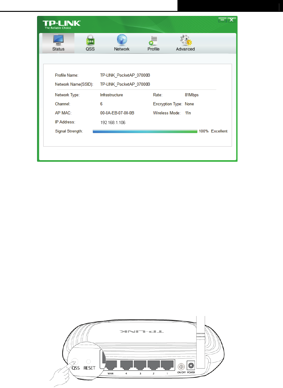 TP-Link TL-WN721N 3 2 To connect using QSS