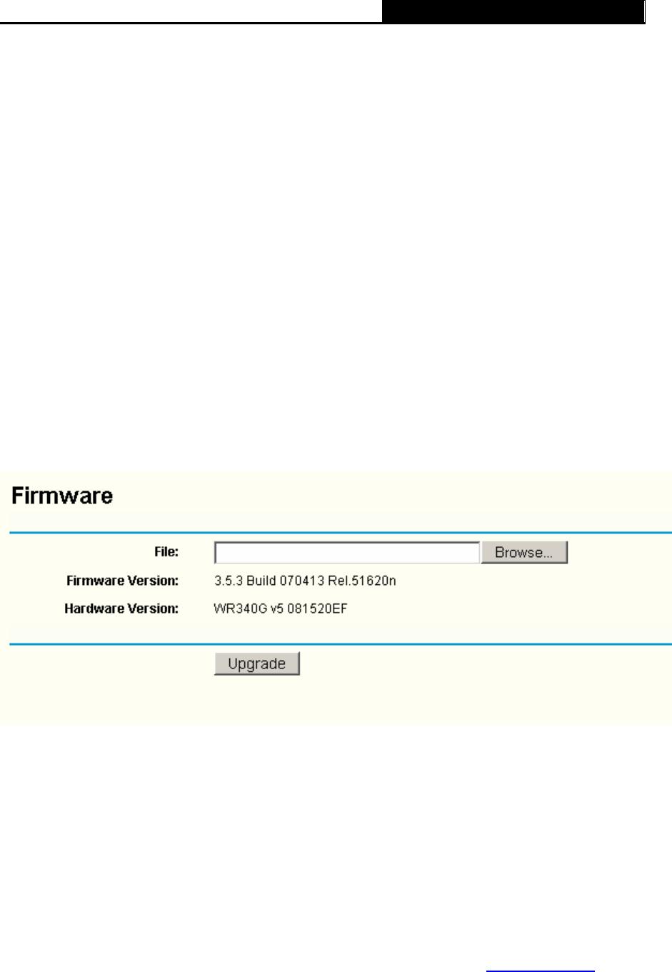 TP-Link TL-WR340G, TL-WR340GD 3  Click Save  , 3 12 2 Firmware