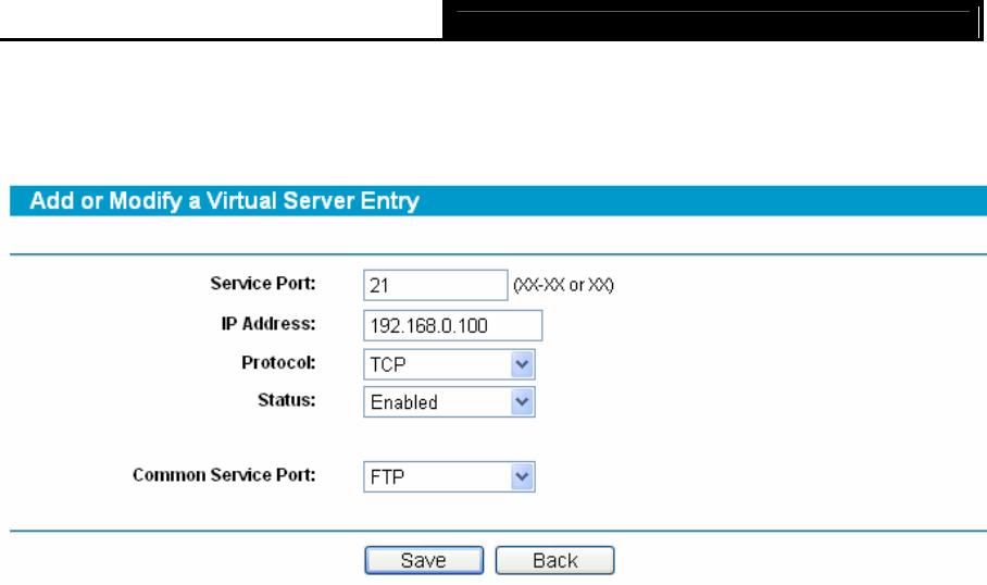 TP-Link TL-R480T+ 4 5 2 Port Triggering