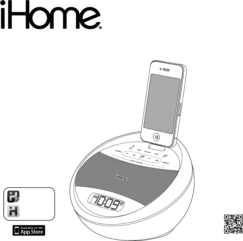 ihome clock radio instruction manual