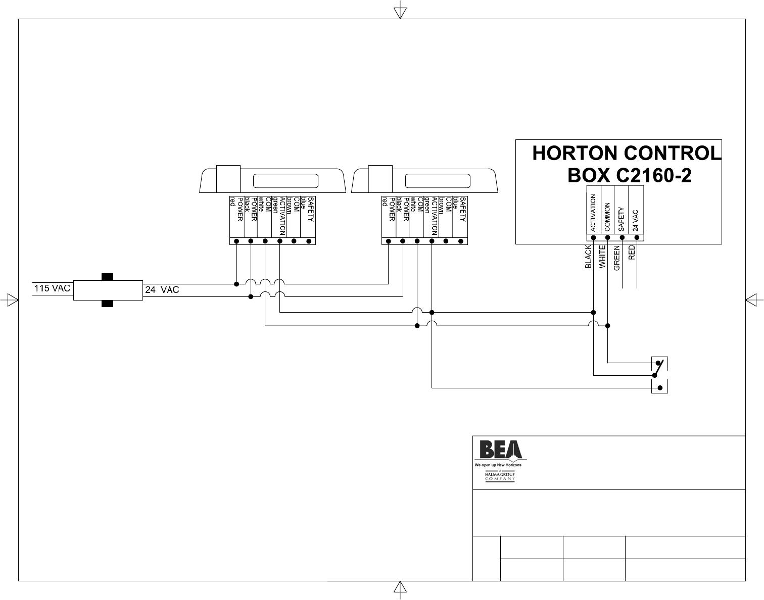 bgb bea 80 0091 02, c2150 manual title horton c2160 2 with wizard ii horton door operator wiring diagrams at gsmx.co