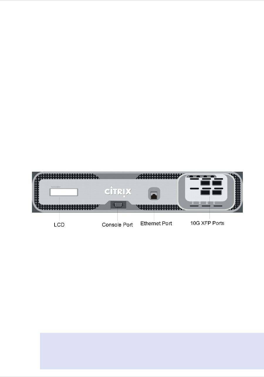 Citrix Systems 9 3 Citrix NetScaler MPX 17000