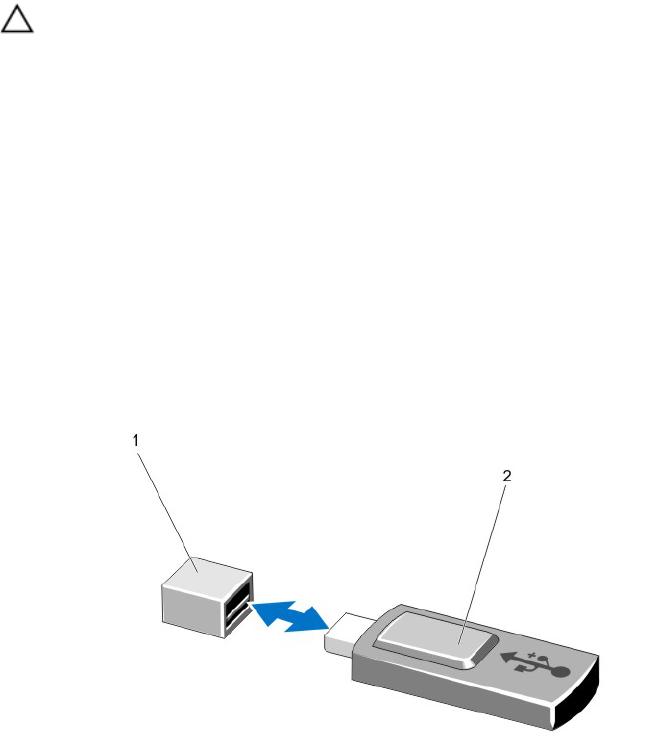 Dell E21S001, R820 Internal USB Memory Key (Optional)