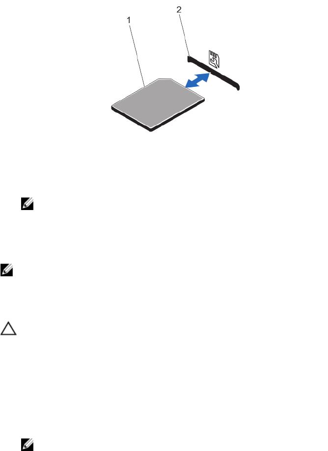 Dell E21S001, R820 Internal Dual SD Module
