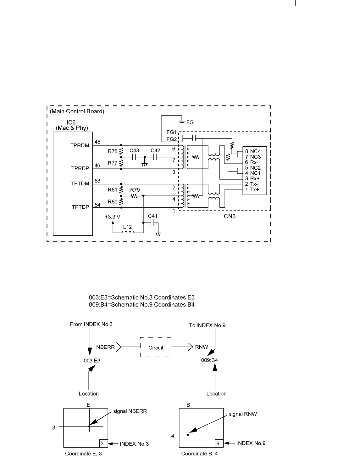Panasonic Schematic Diagram