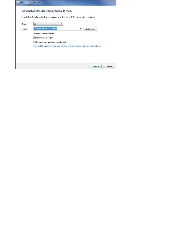 NETGEAR R6220 Map a USB Device to a Windows Network Drive