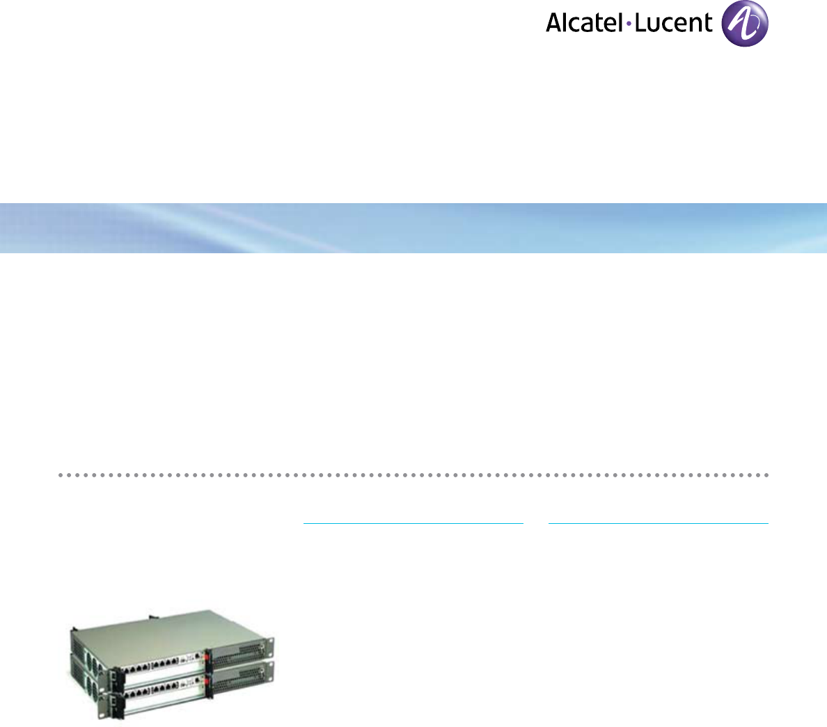 Alcatel-Lucent 5073 manual