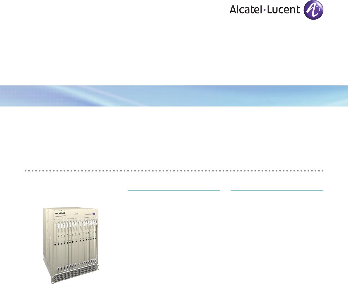 Alcatel-Lucent 7549 MGW manual