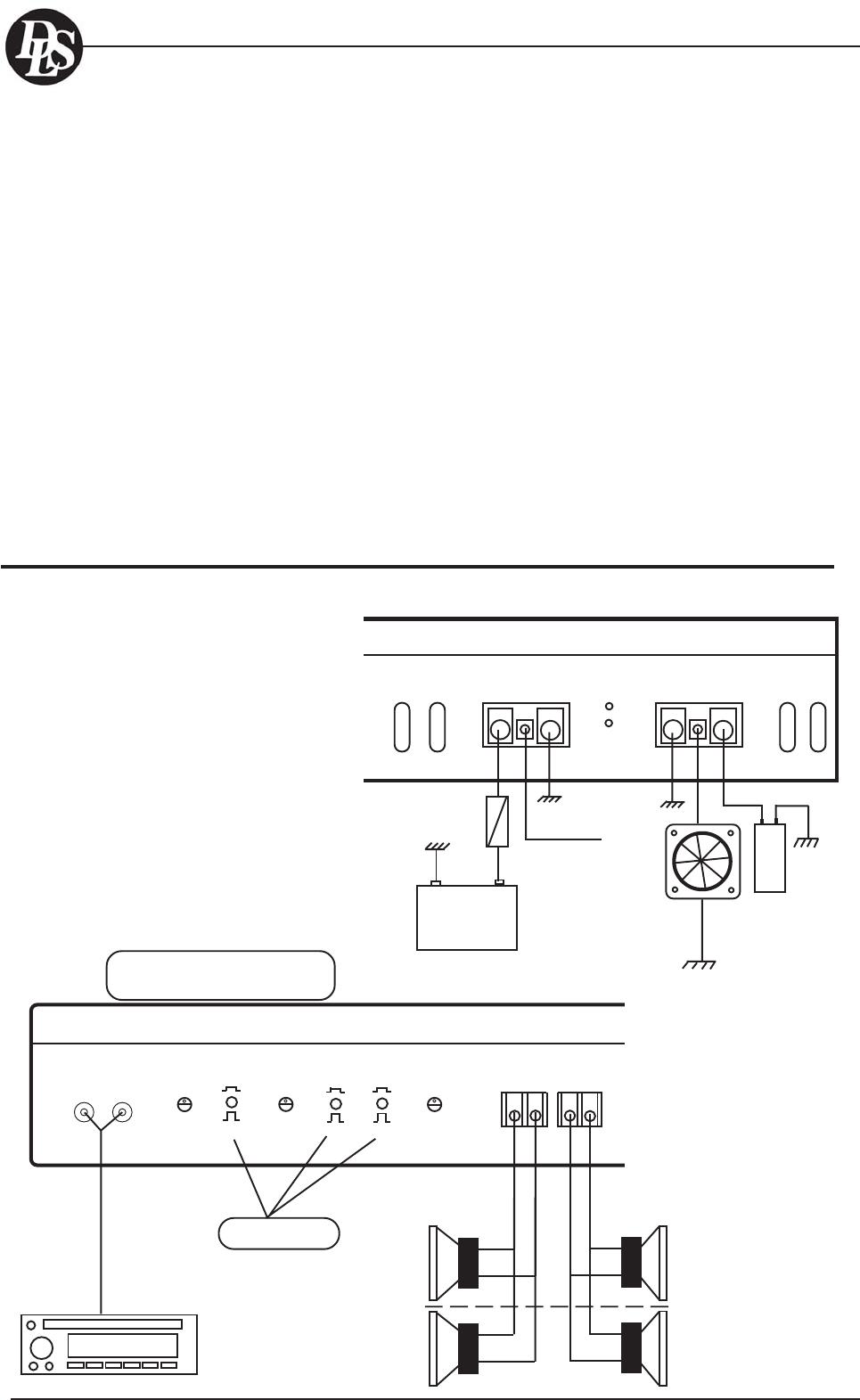 Dls Svenska Ab A1 A2 A3 A4 A5 A6 A7 A8 Series Wiring Examples Parallel Vs