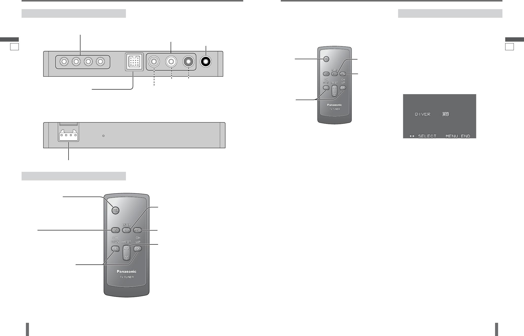 Panasonic Cy Tun153u Nombre De Controles Y Terminales Ajustes Diver Cq Vd6503u Wiring Diagram 83