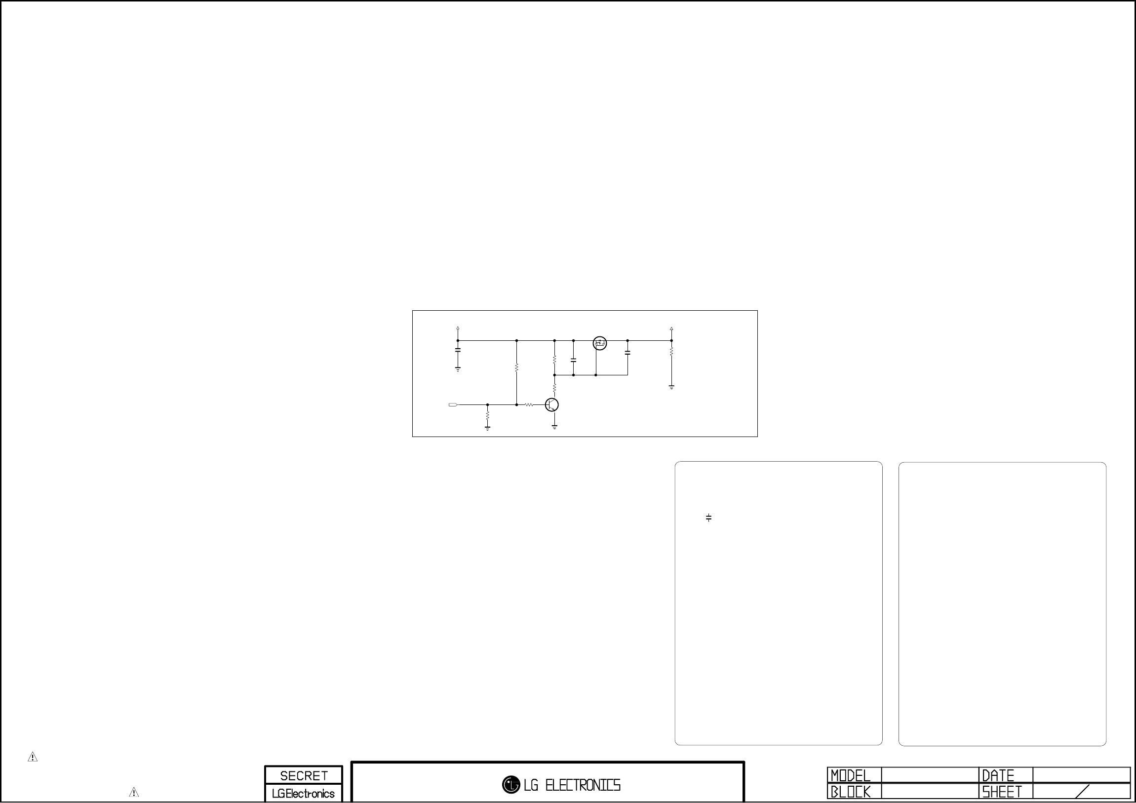 Lg Electronics 42lm660s 660t Za 42lm669s 669s 669t Zc T Con Board Block Diagram The Symbol Mark Of This Schemetic Incorporates