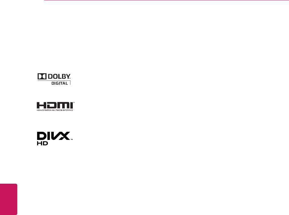 LG Electronics 26LT670H, 32LT670H, 37LT670H, 42LT670H LICENSES, OPEN