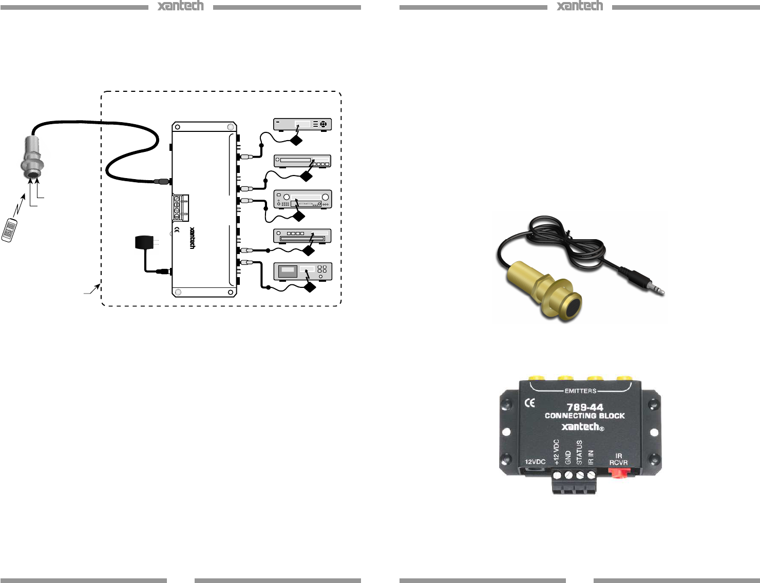 Xantech Ir Receiver Wiring Diagram | Wiring Diagram on