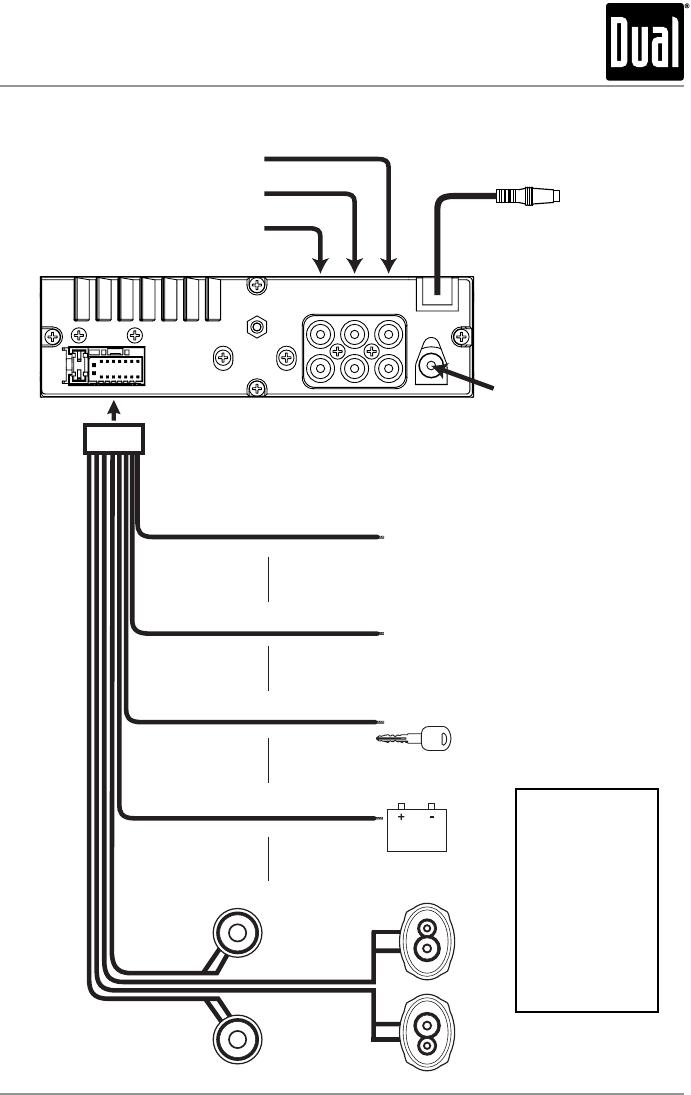 dual stereo wiring diagram  honda ss50 wiring diagram for