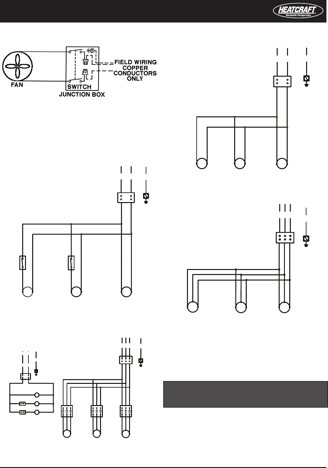 heatcraft refrigeration products 2500018 control circuit may be 24 Telecaster Wiring-Diagram