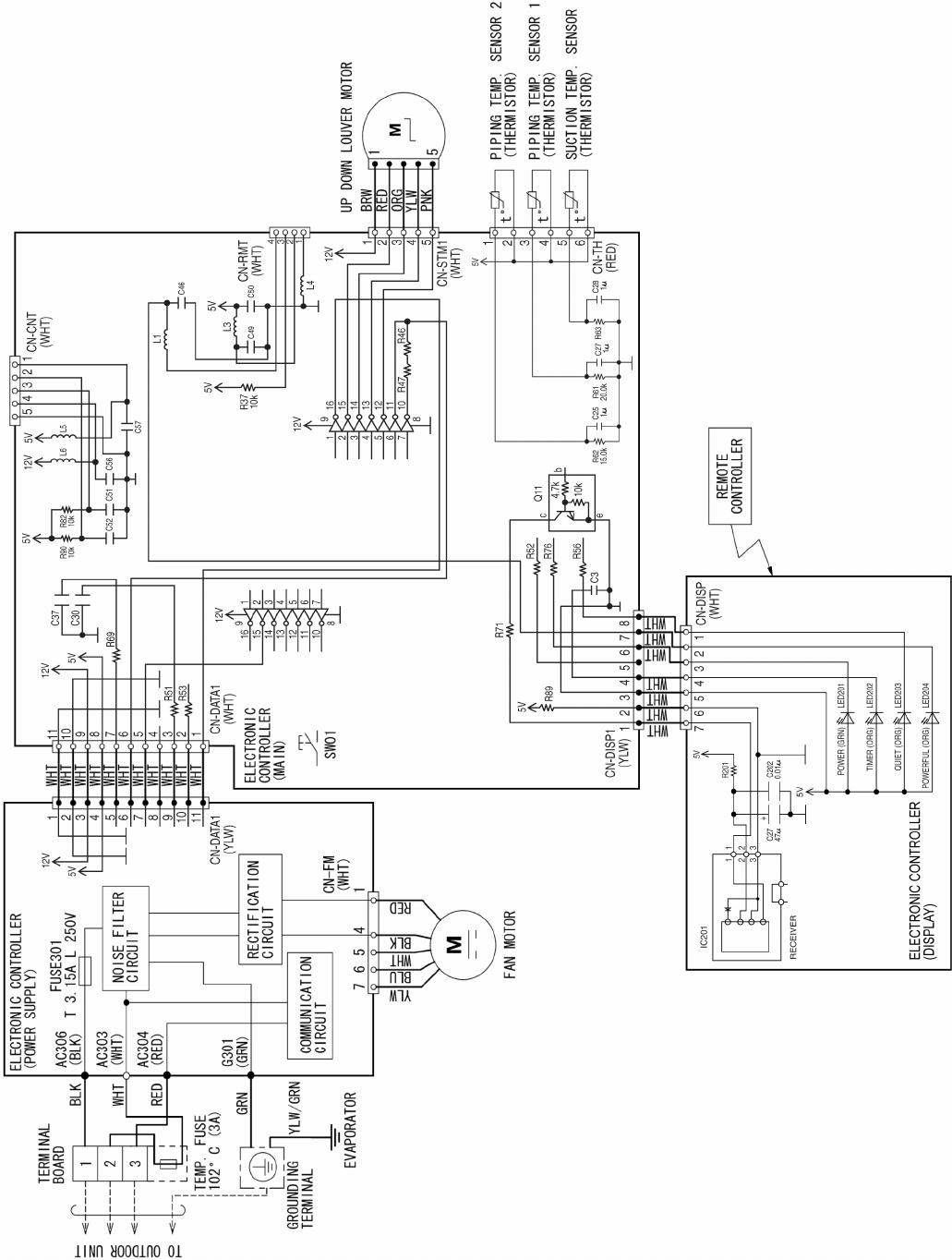 Panasonic Cs E12nkuaw E9nkuaw Cu E12nkua E9nkua Page 16 Powercontrollercircuitdiagram5png Search