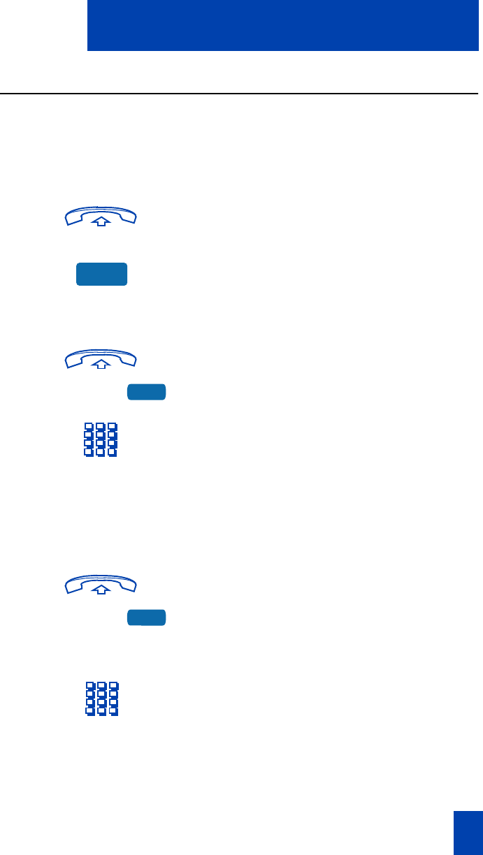 Nortel Networks M3901, M3902, M3903, M3904 Use Call Pickup , p
