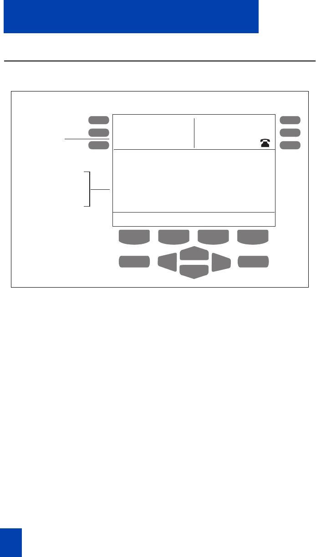 Nortel Networks M3901, M3902, M3903, M3904 M3904 display