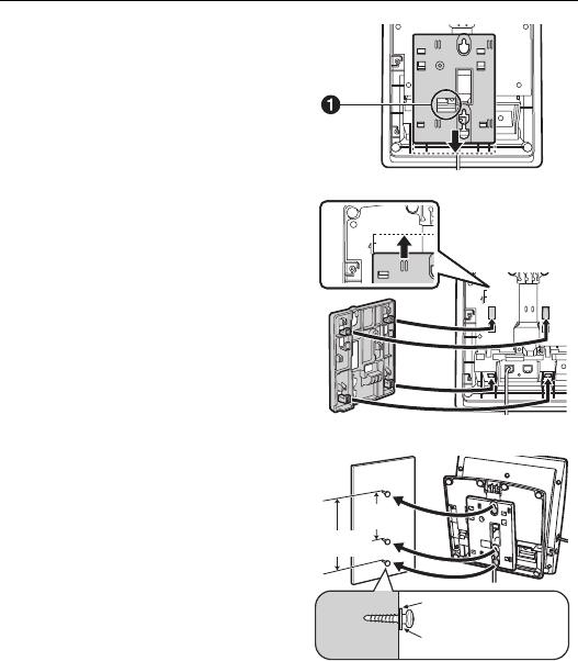 Panasonic Kx Dt333 Kx Dt343 Kx Dt346 Wall Mounting