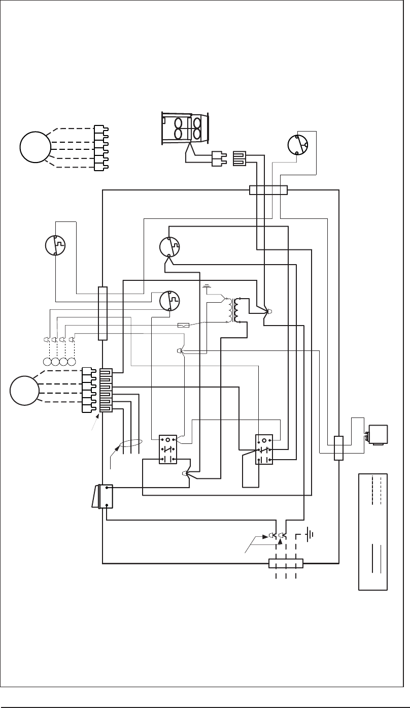 Intertherm Model M1mb Furnace Wiring Diagram Diagrams Data Base Tappan Ac Nordyne M1b M1g M1m M1s Figure 43 Standing Pilot With Induced Rh Manualsdump Com On Blower Relay Switch For