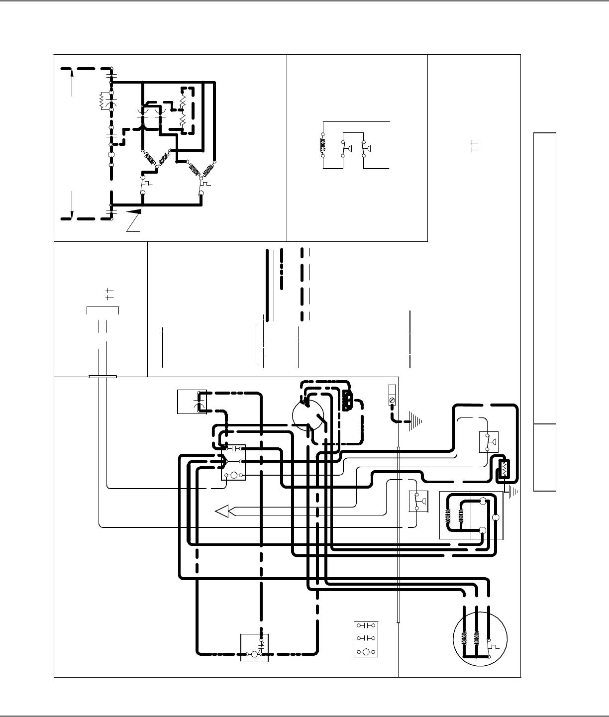 Goodman Mfg Goodman High Efficiency 2 To 5 Ton Split System Air Conditioner Ss Ssx16 Label Wiring Diagram