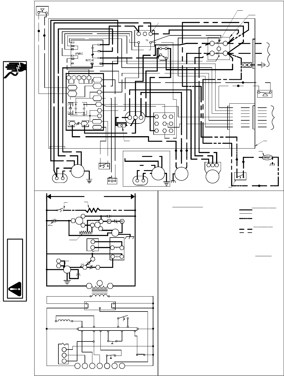 Goodmans Gph 13 H  Package Heat Pump Units Wiring Diagrams