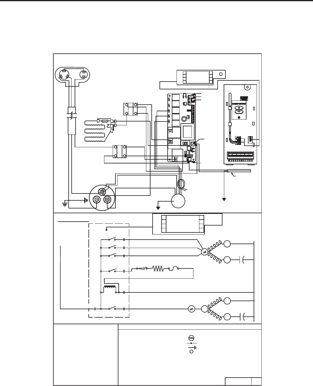 Friedrich R410a Cool With Electric Heat Model El36m35a. Wiring. Friedrich Capacitor Wire Diagram At Scoala.co