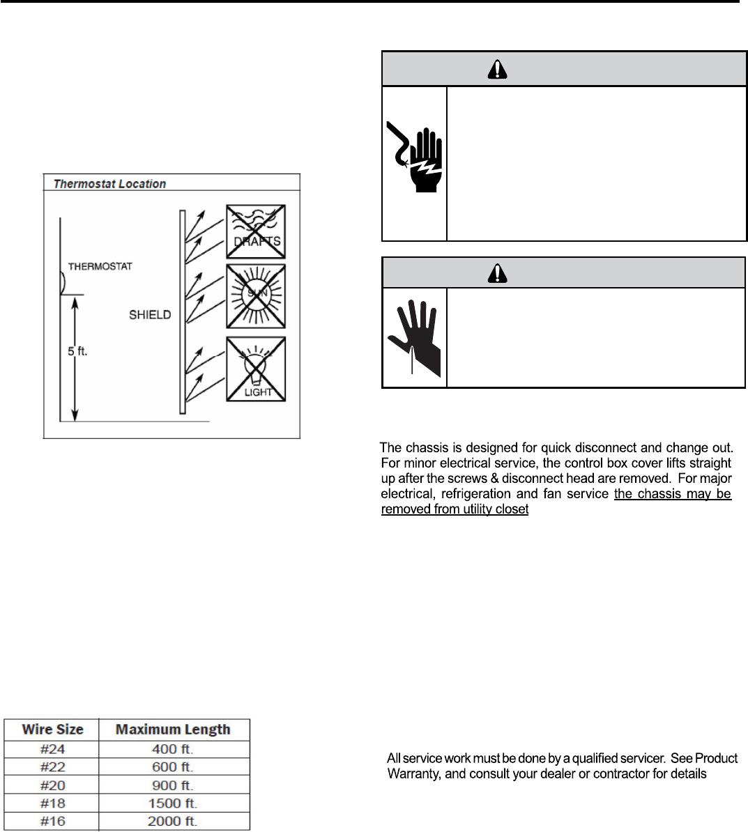 Friedrich R410a Remote Wall Thermostat Location Wiring Diagrams