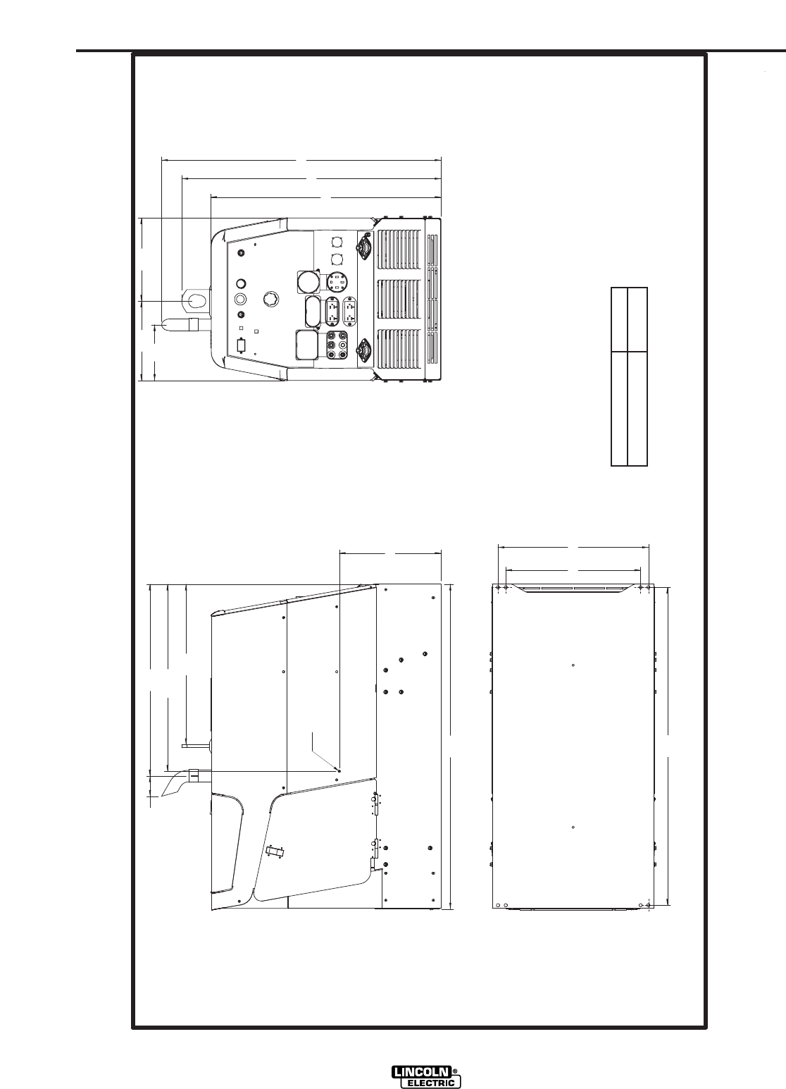 lincoln 305g wiring diagram lincoln electric im742 a dimension print ranger 305g  im742 a dimension print ranger 305g