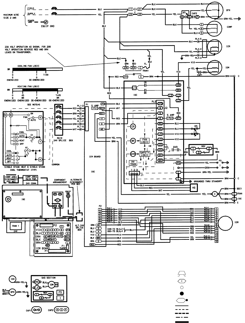 120 208 volt wiring diagram