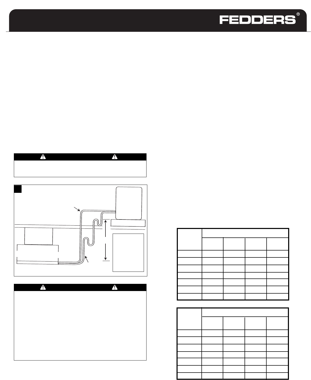 [DVZP_7254]   Fedders Split System Air Conditioner CONNECT REFRIGERANT PIPING, Precautions | Fedders Air Handler Wiring Diagram |  | Manuals