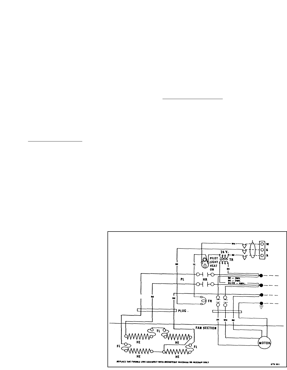 Marley Engineered Products Thermostat Wiring - Wiring Diagram ShwWiring Diagram Shw