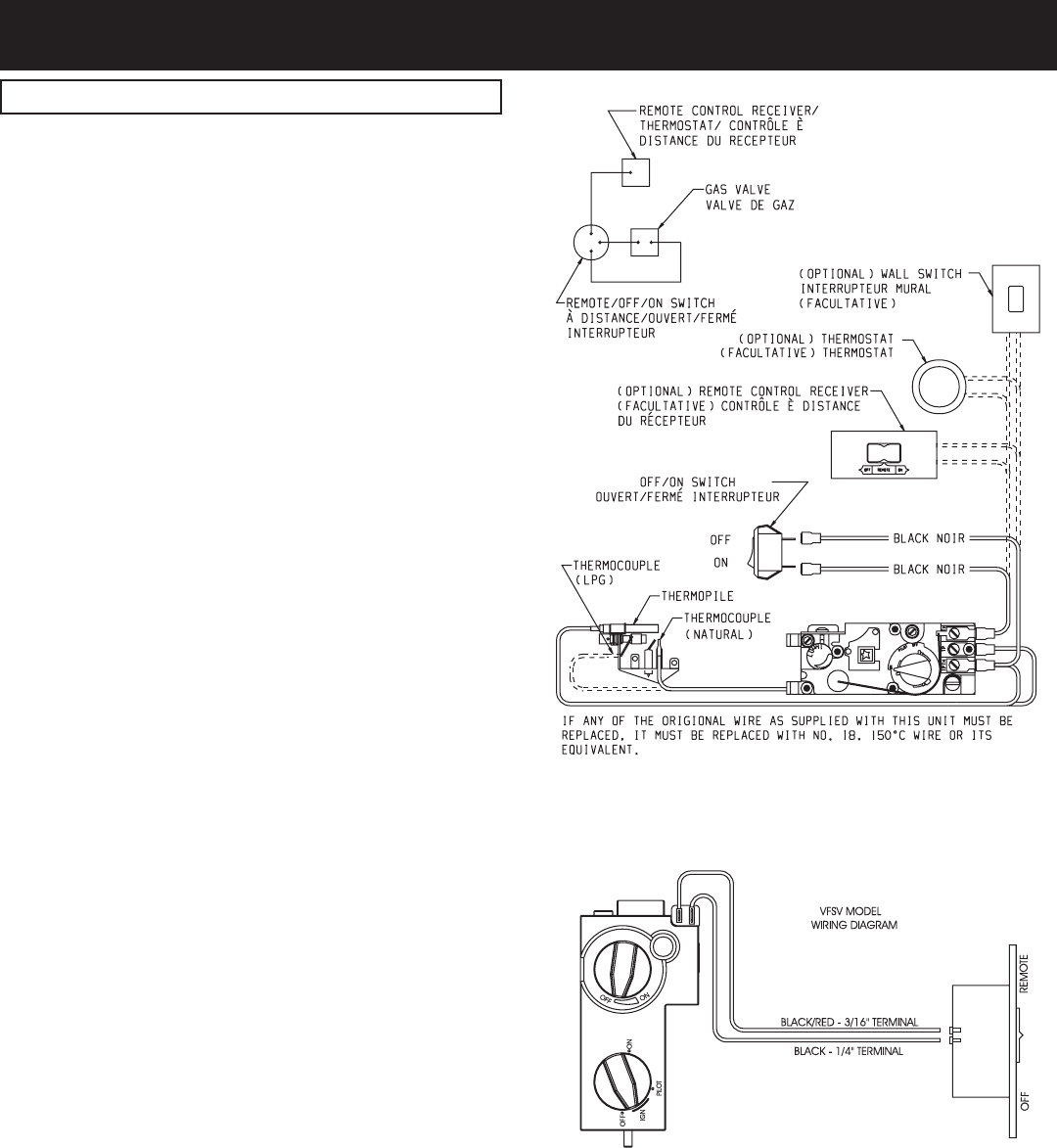 Empire Comfort Systems Vfsm 30 3 18 24 Vfsr 16 Thermopile Wiring Diagrams Page 18954 0 0705