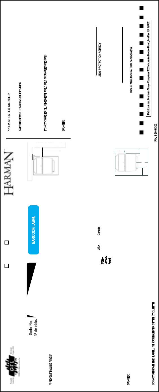 harman p43 parts wiring diagrams