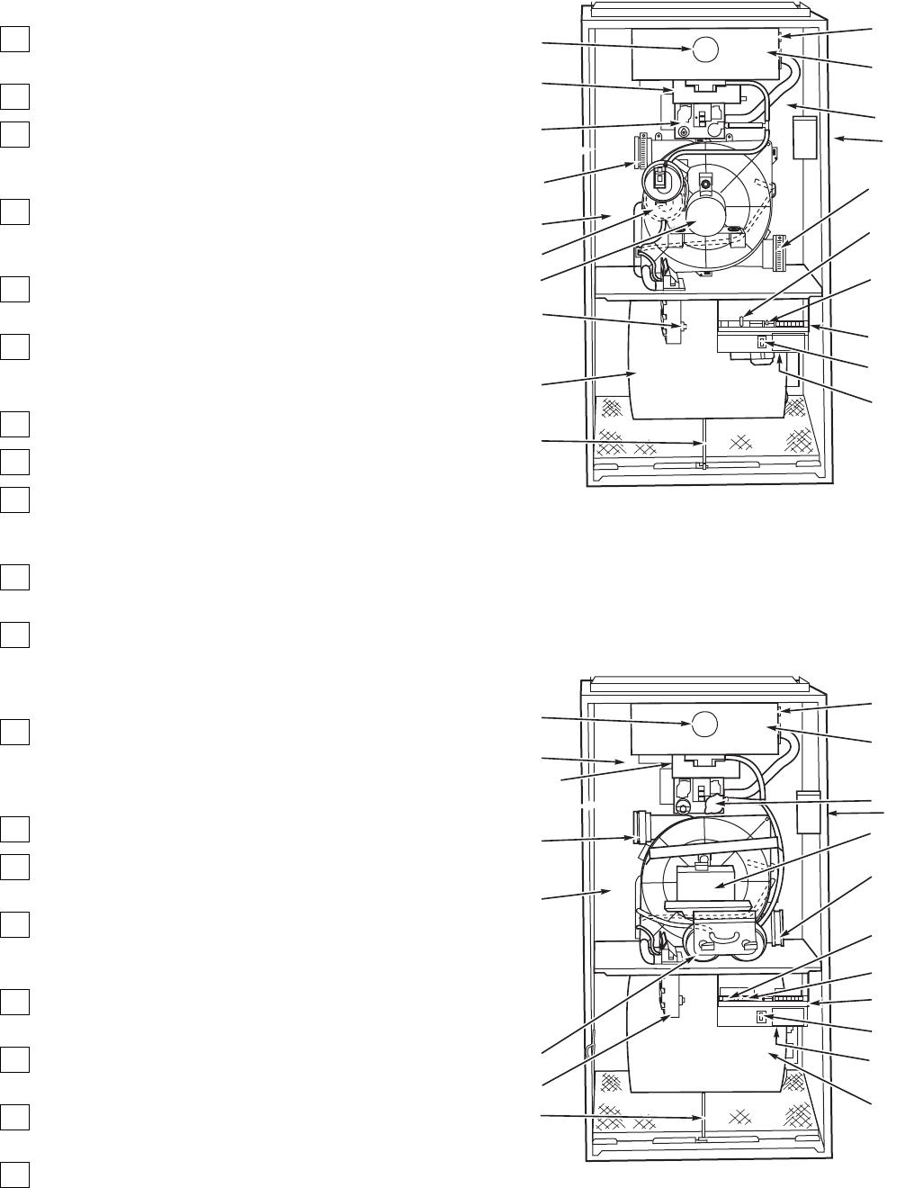 upflow furnace diagram