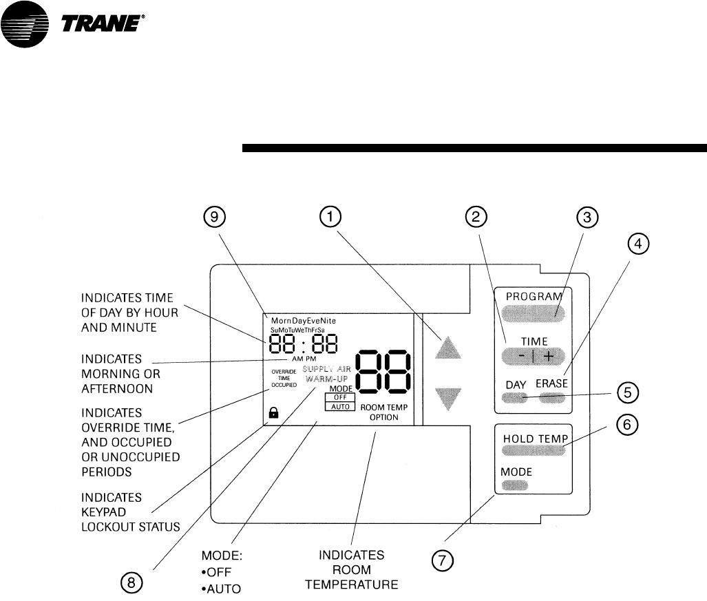 Trane SCXG-SVX01B-EN BAYSENS020