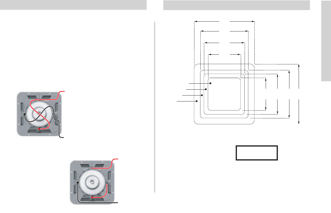 Kicker L5 Wiring Options Cutout DimensionsManuals
