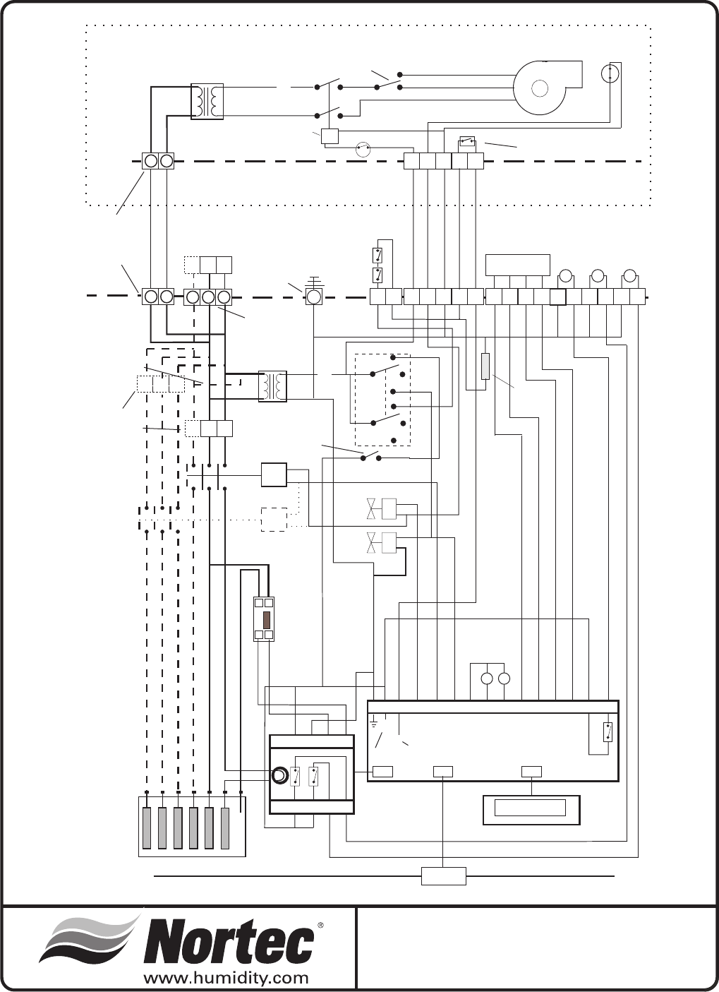 Nortec 132 3091 Ss Therm O Disc Wiring Diagrams 24 Nhmc Humidifierw Or W Optional Blower Packbuilt On Remotewiring Diagram No