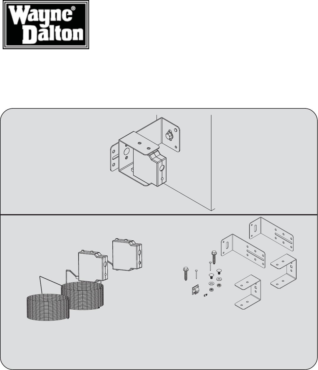Wayne Dalton 3012 3014 3651 372 3750 372 Installation Instructions