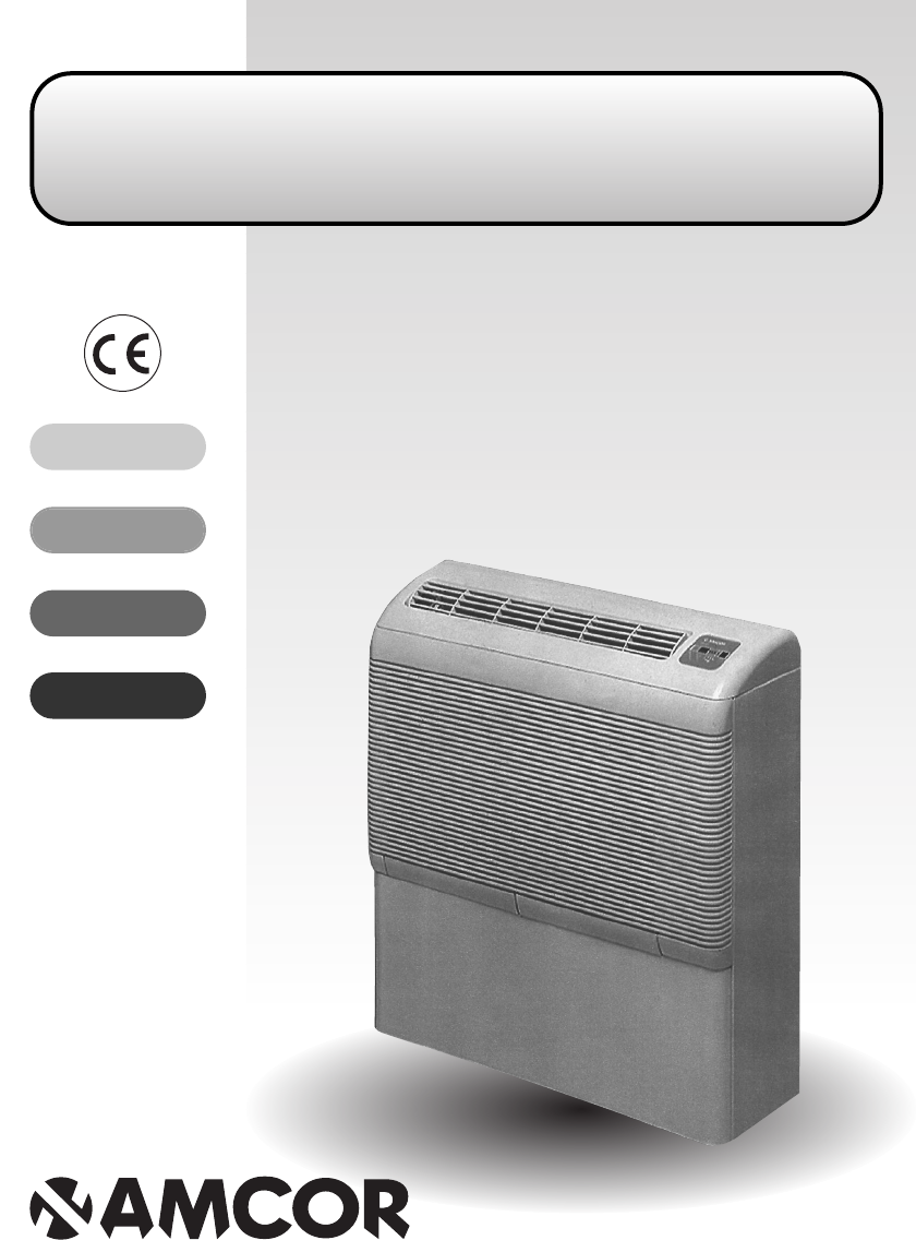 Beste Amcor D850E, D950E instruction manual MC-97