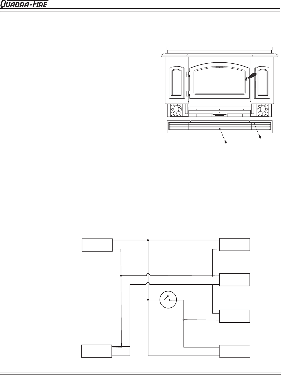 hearth and home technologies 5100-i blower replacement instructions, wiring  diagram  manuals