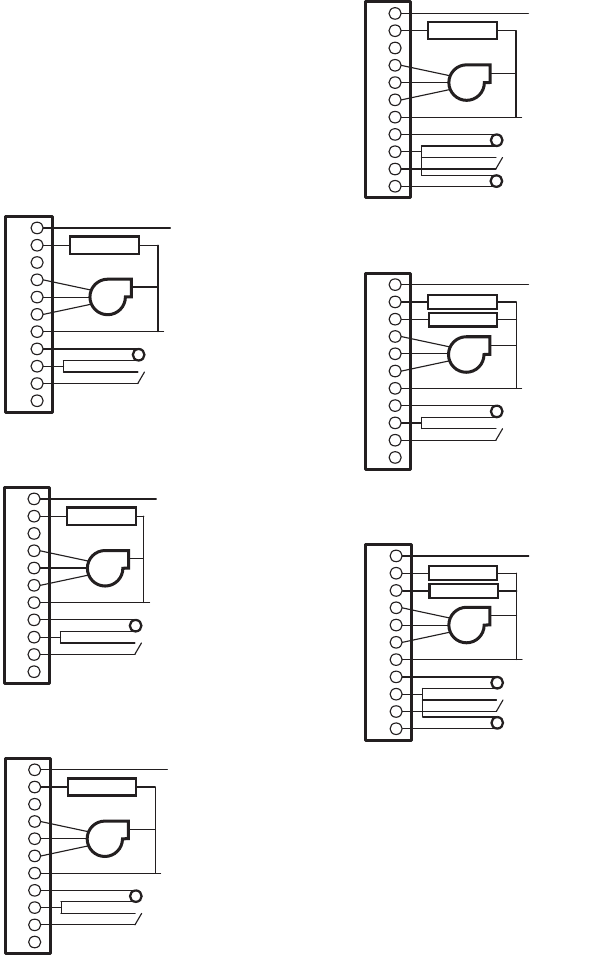 Honeywell TB6575, TB8575 Thermostat Wiring Diagrams on