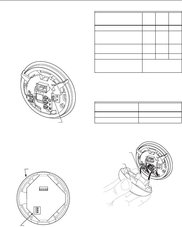Honeywell T8775ac Customize Thermostat Operation